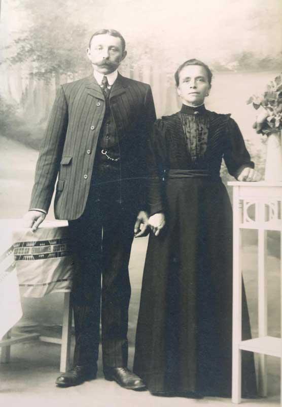 Bernard Coes en Gezina Coes-Pleij